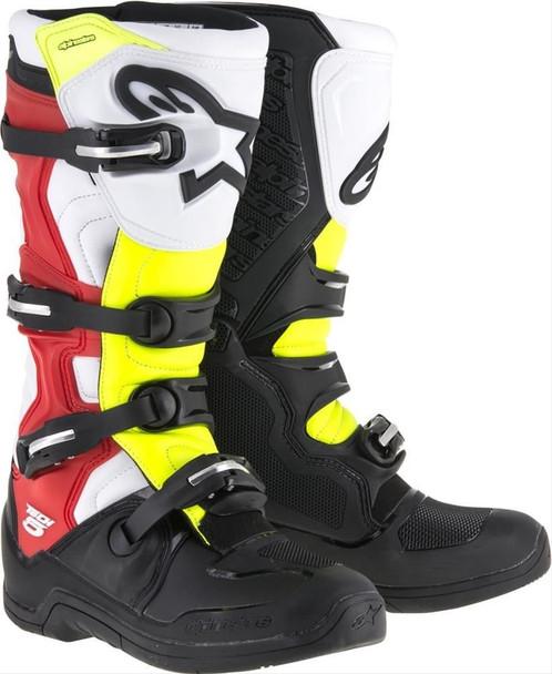 Alpinestars Motocross Tech 5 Boots Adult Size 10 2015015-1235-10