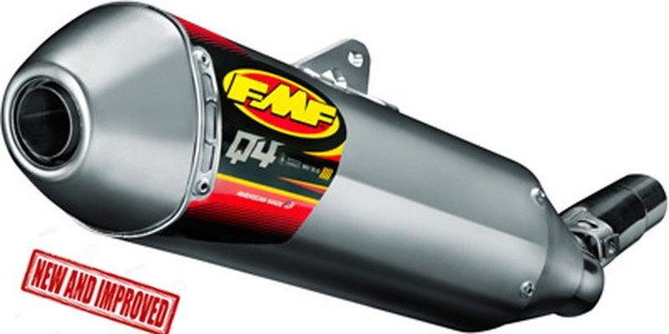 Fmf Exhaust Slip On Pipe Muffler System Q4 Hex Honda Crf250l 17-18
