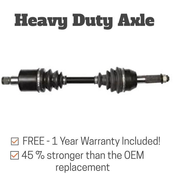 Open Trail Heavy Duty Rear Wheel Axle