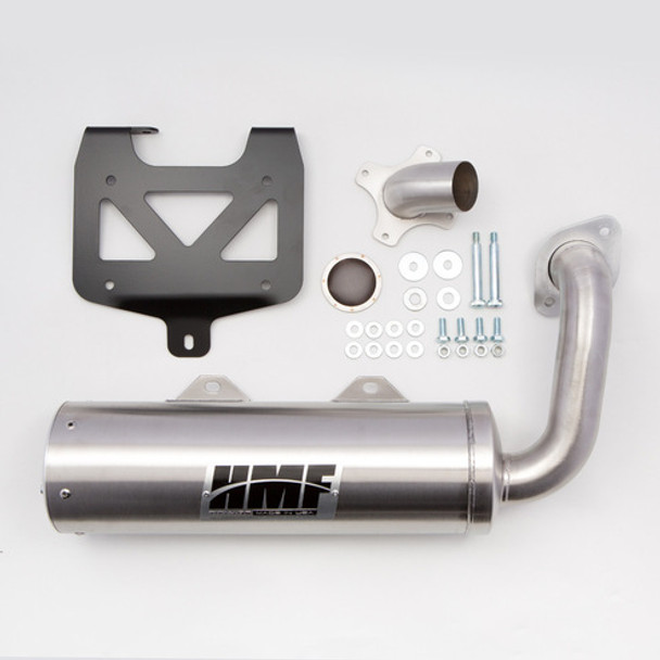 HMF Titan Slip On Exhaust System Muffler Polaris Rzr S 1000 2016-2019
