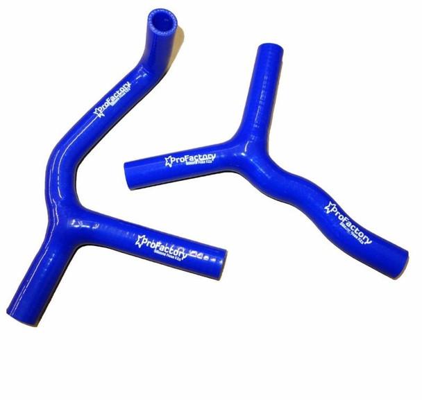 Ktm 85sx 105sx Radiator Hose Kit Hi-Flow Pro Factory Hoses Blue 08-12