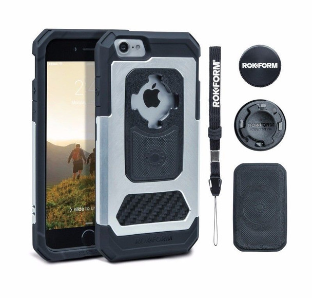 RokForm iPhone 7 Plus Fuzion Pro Cell Phone Case Natural 532522