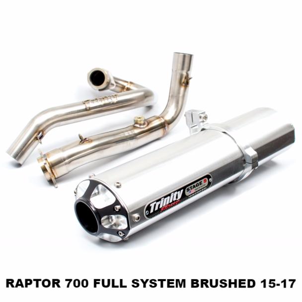 TR-4147F Yamaha Raptor 700 Exhaust
