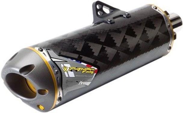 HMF Performance Exhaust Muffler Slip-on Suzuki King Quad 400 8-12//Eiger 2-7