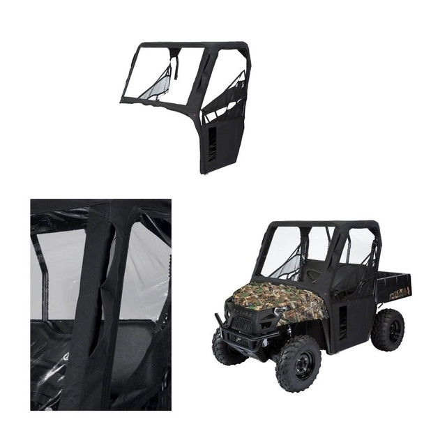 Classic Accessories UTV Cab Enclosure Kawasaki KAF 820/990 Mule Black 2015-2017