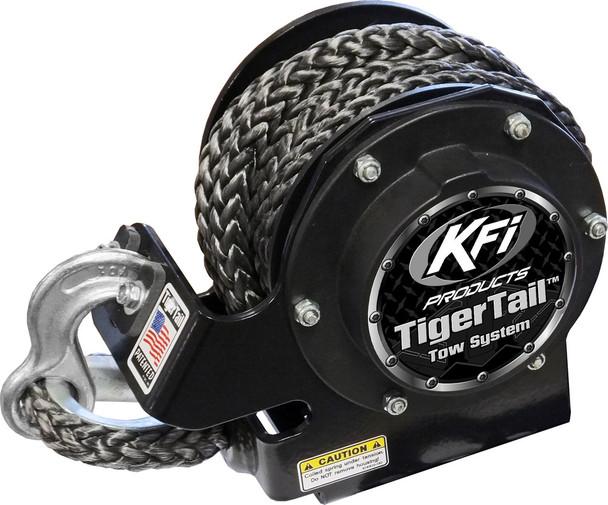 KFI Tiger Tail Tow System Standard BLACK 101120