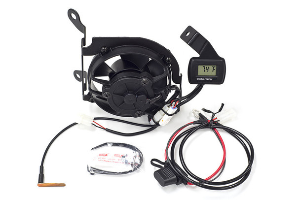 Trail Tech Digital Radiator Fan Cooling Kit Yamaha WR450F 2012-2015