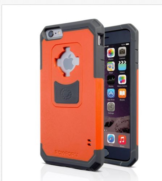 RokForm iPhone 6 Plus/6s Plus Rugged Case Orange/Black 302354