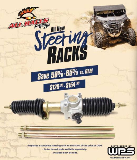 All Balls Steering Rack Assembly Polaris Ranger 400 4X4 [Midsize] 2010-2014 51-4