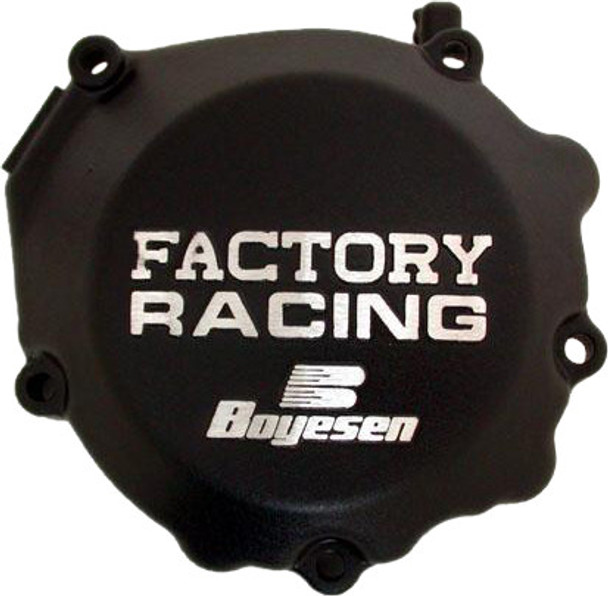 Boyesen Factory Racing Ignition Cover Black Yamaha YZ250 1988-1998 SC-32B
