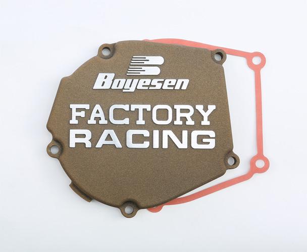 Boyesen Factory Racing Ignition Cover Magnesium Kawasaki KX250 2005-2007 SC-12AM