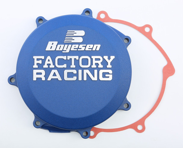 Boyesen Factory Racing Clutch Cover Blue Yamaha YZ250FX 2015-2019 CC-37AL