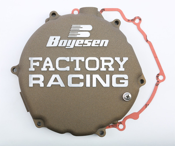 Boyesen Factory Racing Clutch Cover Magnesium Kawasaki KX250 2005-2007 CC-12CM