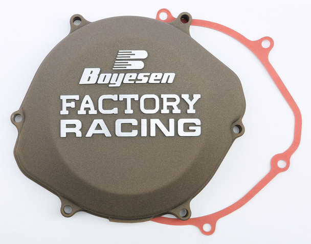 Boyesen Factory Racing Clutch Cover Magnesium Honda CR250R 2002-2007 CC-02AM