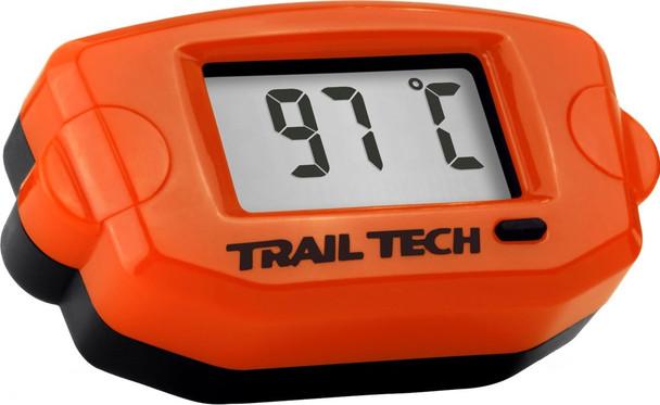 Trail Tech Water Temp Meter 25MM Hose Orange 743-EH3