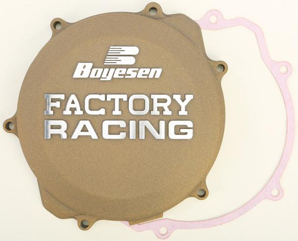 Boyesen Factory Racing Clutch Cover Magnesium Yamaha YZ250 1999-2019 CC-32AM