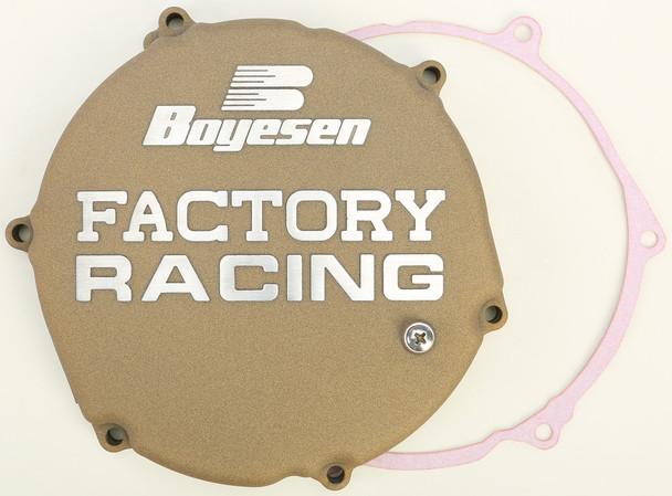 Boyesen Factory Racing Clutch Cover Magnesium Kawasaki KX250 1993-2002 CC-12M