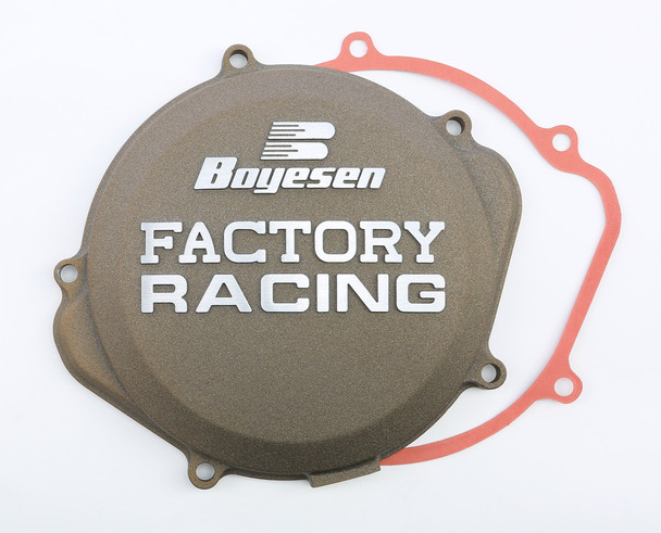 Boyesen Factory Racing Clutch Cover Magnesium Honda CRF250X 2004-2017 CC-07XM
