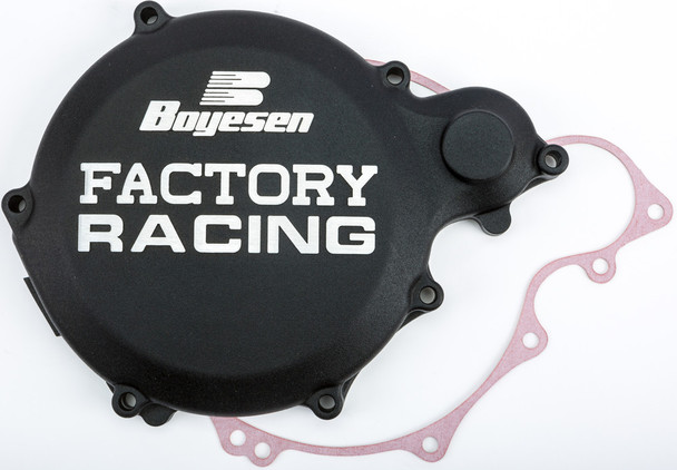 Boyesen Factory Racing Clutch Cover Black Yamaha YZ250 1993-1998 CC-32B