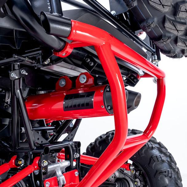 HMF Performance Dual Full System Red/Black Honda Talon 1000R/X 2019-2020
