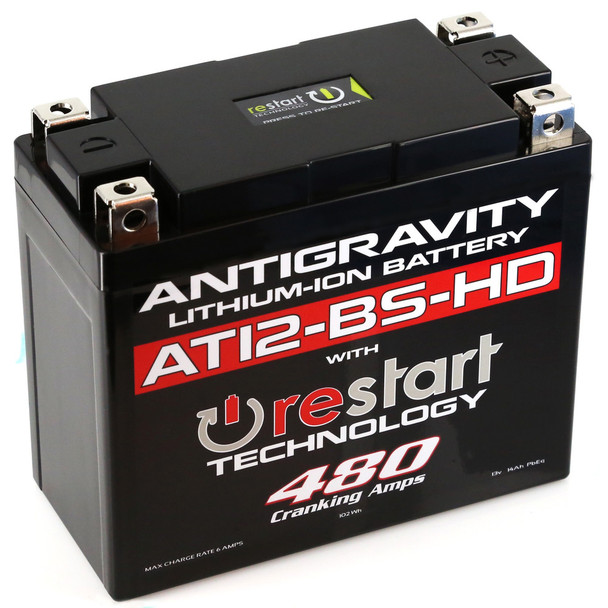 Antigravity Lithium Battery 480CA AG-AT12BS-HD-RS
