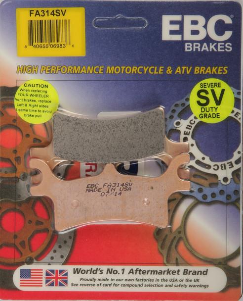 EBC Brake Pads Polaris Scrambler 500 4X4 2005-2012 FA314SV
