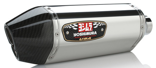 Yoshimura Exhaust Street R-77D Slip-On SS-SS-CF Suzuki GSX-R750 2011-2018 1160023520