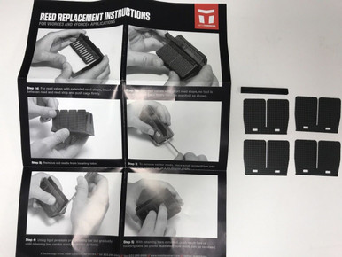 Moto Tassinari Replacement Reed Petals for Delta 3 Reed Valve 3P462H 79-0855