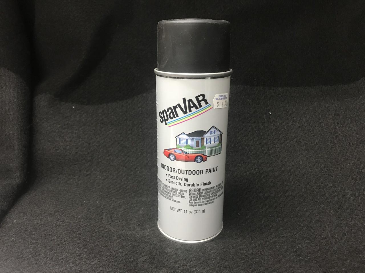 Ultra Flat Black Spray Paint