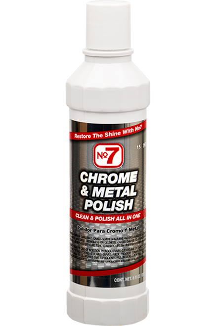 Chrome & Metal Polish Liquid 8 fl. oz. (10120)