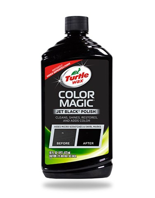 Color Magic Car Polish, Black - 16 oz. (T374KTR)