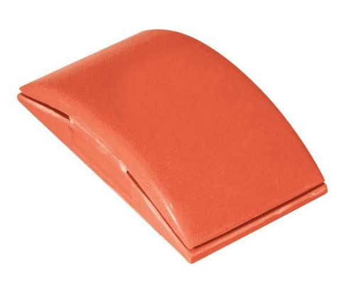 "5"" Red Vinyl Sanding Block (AES923R)"