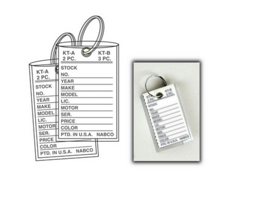 Key Tags: Traditional key tags, Popular (T12)