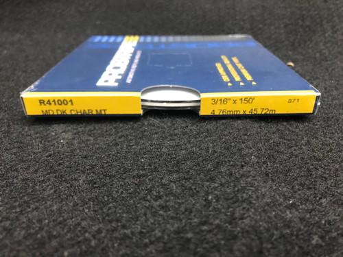 "R41001 Medium Dark Charcoal Metallic Thin & Thin Single Color 3/16"" x 150' (R41001)"