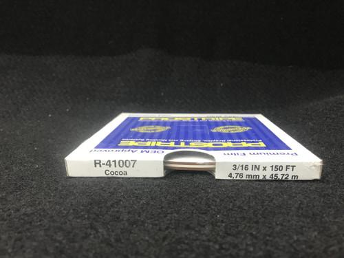 """R41007 Cocoa Thin & Thin Single Color 3/16"""" x 150'"""