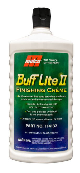 buff lite II polishing compound 32 oz.