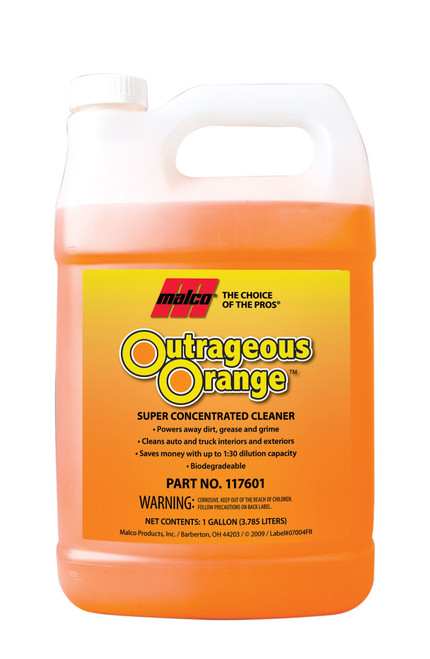 outrageous orange gallon