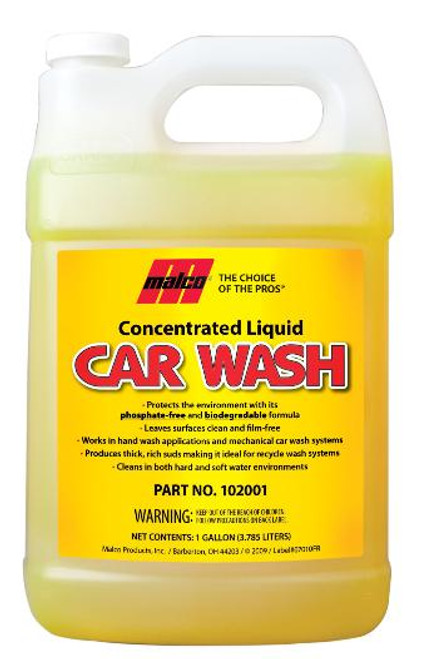 Liquid Car Wash Concentrate Gallon