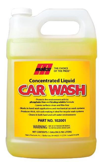 Liquid Car Wash Concentrate Gallon