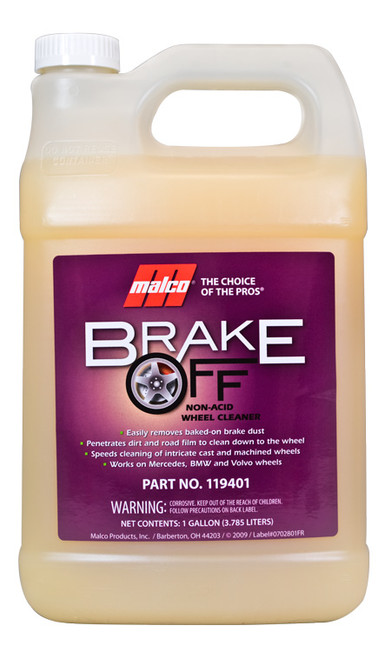 Brake off wheel cleaner gallon