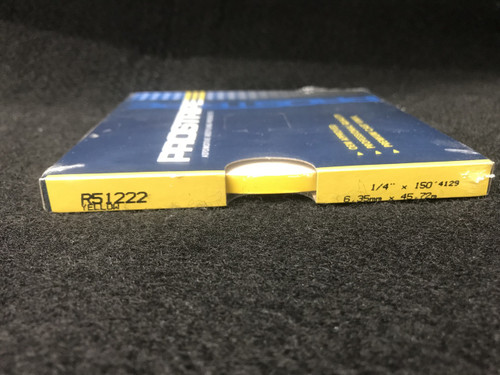 "R51222 Yellow Single Stripe 1/4"" x 150'"