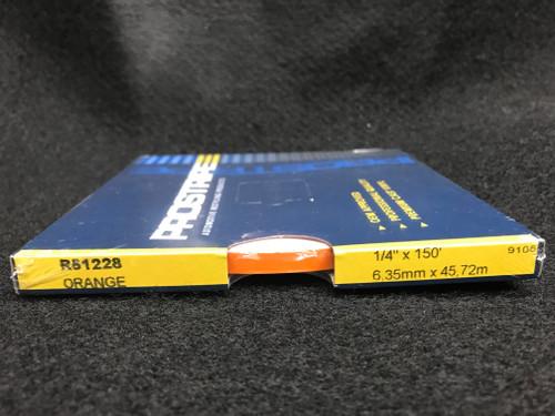 "R51228 Orange Single Stripe 1/4"" x 150' (R51228)"