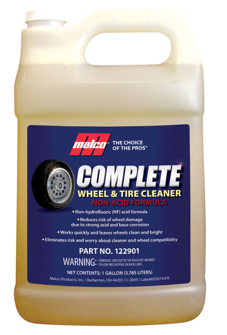 Complete wheel cleaner gallon