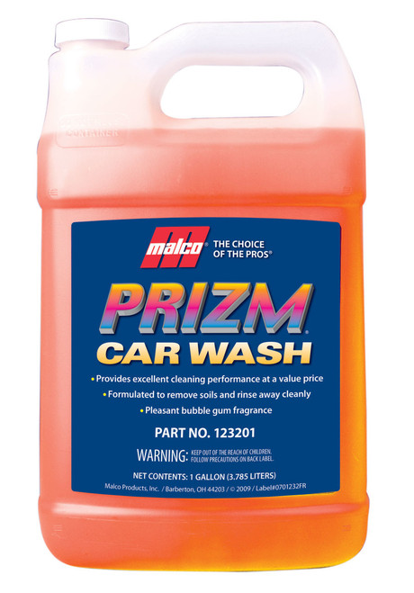Prizm car wash gallon