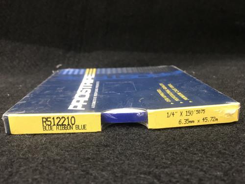 """R512210 Blue Ribbon Blue Single Stripe 1/4"""" x 150'"""