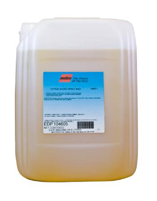 Citrus spray wax 5 gallon
