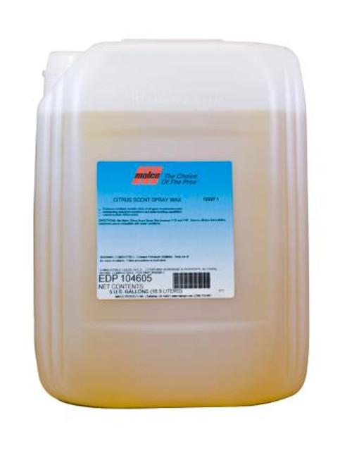 Citrus spray wax 5 gallon