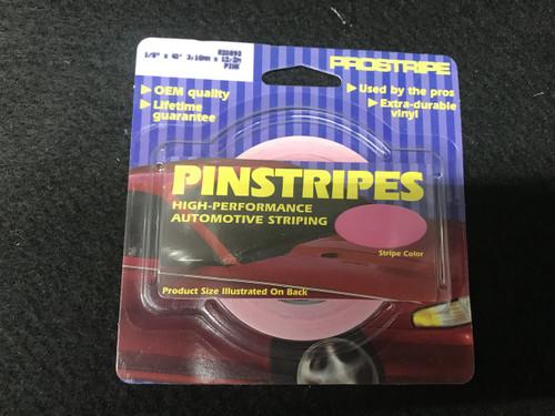 """R20892 Pink Single Stripe 1/8"""" x 40'"""