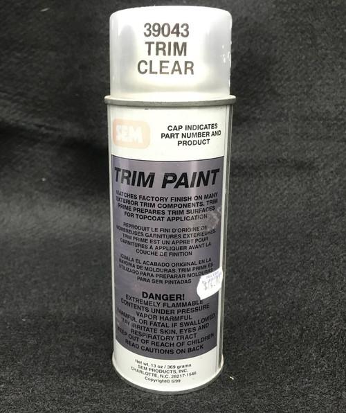 Sem 39043 Trim Clear Trim Paint