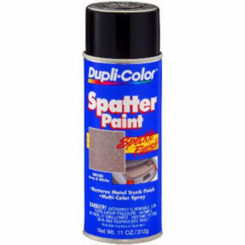 DM100 Trunk Spatter Paint, Gray & White